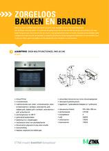 Product informatie ETNA oven inbouw A3405FTRVS