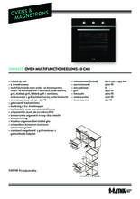 Product informatie ETNA oven inbouw zwart OM165ZT