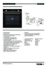 Product informatie ETNA oven met magnetron inbouw zwart MO470ZT