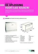 Product informatie ETNA vaatwasser compact EVW7862WIT