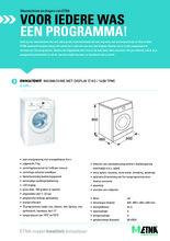 Product informatie ETNA wasmachine wit EWM247DWIT