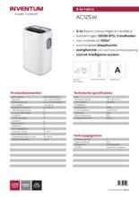 Product informatie INVENTUM airco AC125W