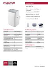 Product informatie INVENTUM airco AC907W