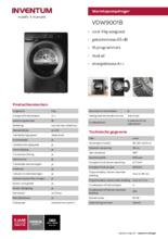 Product informatie INVENTUM droger warmtepomp VDW9001B