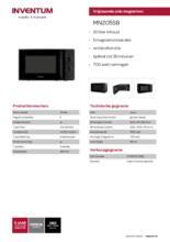 Product informatie INVENTUM magnetron MN205SB