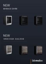 Product informatie IOMABE koelkast onderbouw IOB150BB-BG