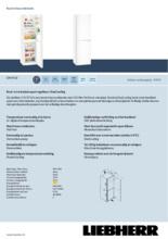 Product informatie LIEBHERR koelkast CN4713-23