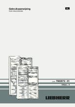 Product informatie LIEBHERR koelkast CNP4056-21