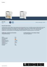 Product informatie LIEBHERR koelkast DRf3900-20