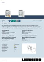 Product informatie LIEBHERR koelkast IRD3920-60