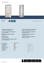 Product informatie LIEBHERR koelkast SKEF4260-22