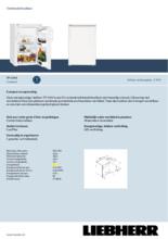 Product informatie LIEBHERR koelkast TP1444-20