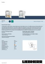 Product informatie LIEBHERR koelkast inbouw DRF3901-20