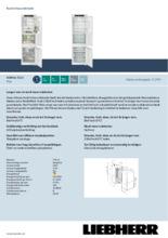 Product informatie LIEBHERR koelkast inbouw ICBNSe5123-20