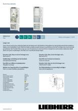 Product informatie LIEBHERR koelkast inbouw ICBSd5122-20