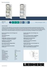 Product informatie LIEBHERR koelkast inbouw ICBb5152-20