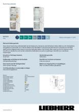Product informatie LIEBHERR koelkast inbouw ICD5123-20