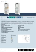 Product informatie LIEBHERR koelkast inbouw ICNd5123-20