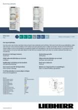 Product informatie LIEBHERR koelkast inbouw ICNe5133-20