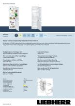 Product informatie LIEBHERR koelkast inbouw ICP3324-21