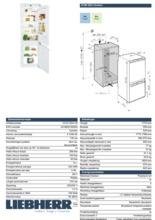 Product informatie LIEBHERR koelkast inbouw ICUN3324-20