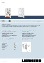 Product informatie LIEBHERR koelkast inbouw IK2320-21