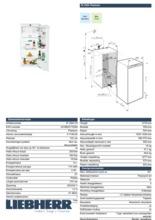 Product informatie LIEBHERR koelkast inbouw IK2364-20