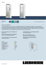 Product informatie LIEBHERR koelkast inbouw IRBSE5121-20