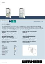 Product informatie LIEBHERR koelkast inbouw IRBSe4121-20