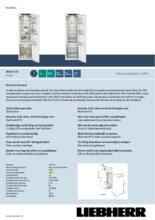 Product informatie LIEBHERR koelkast inbouw IRBd5150-20