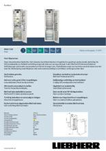 Product informatie LIEBHERR koelkast inbouw IRBdi5180-20