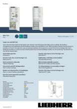 Product informatie LIEBHERR koelkast inbouw IRBe5120-20