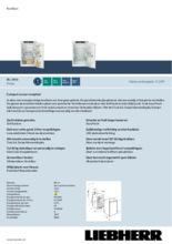 Product informatie LIEBHERR koelkast inbouw IRC3950-60