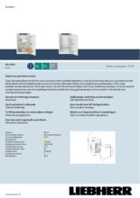 Product informatie LIEBHERR koelkast inbouw IRD3900-60