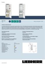 Product informatie LIEBHERR koelkast inbouw IRDe5120-20