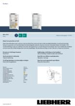 Product informatie LIEBHERR koelkast inbouw IRSe4101-20