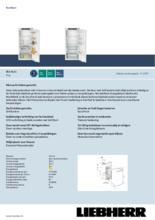 Product informatie LIEBHERR koelkast inbouw IRd4121-20