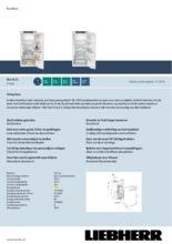 Product informatie LIEBHERR koelkast inbouw IRd4151-20