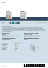 Product informatie LIEBHERR koelkast inbouw IRe3920-20