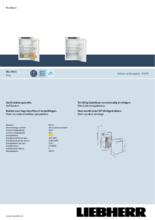 Product informatie LIEBHERR koelkast inbouw IRe3921-20