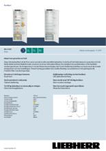 Product informatie LIEBHERR koelkast inbouw IRe5100-20