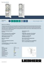 Product informatie LIEBHERR koelkast inbouw SICNd5153-20
