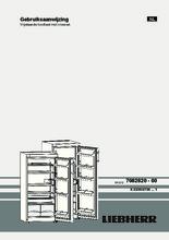 Product informatie LIEBHERR koelkast kastmodel K2734-24