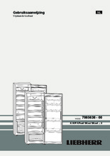 Product informatie LIEBHERR koelkast kastmodel KP4220-21