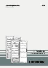 Product informatie LIEBHERR koelkast kastmodel rvs KPesf3620-21