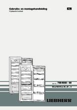 Product informatie LIEBHERR koelkast kastmodel rvs Kes4270-23