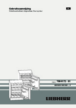 Product informatie LIEBHERR koelkast onderbouw UIK1424-23