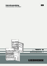 Product informatie LIEBHERR koelkast onderbouw UK1720-23