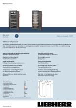 Product informatie LIEBHERR koelkast wijn WKr4211-22