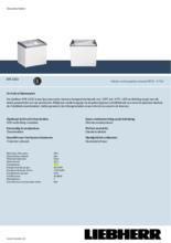 Product informatie LIEBHERR professionele vrieskist - ijsconservator EFE2252-21